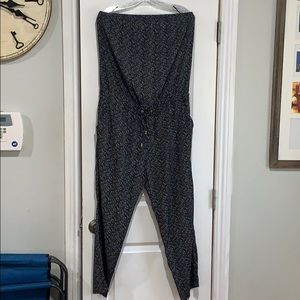 Women's strapless jumpsuit from Express size Large